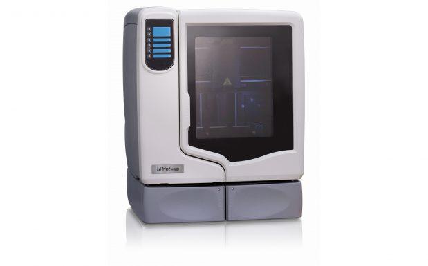 Der Uprint SE Plus 3D von Stratasys, Rheinmünster, ist ein FDM-Drucker (Fused Deposition Modeling) und eignet sich zum Prototypen- und Modellbau aus ABS. (Bildquelle: Stratasys)