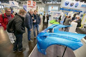 Die Composites Europe findet ab sofort jedes Jahr in Stuttgart statt. (Bildquelle: Reed Exhibitions)