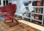 Materialauswahl für ein neues Bürostuhl-Konzept