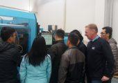 Die SKZ Lehrgänge in China werden an modernen Spritzgießmaschinen von Sumitomo Demag durchgeführt.