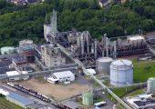 Brand an Evonik-Standort Lülsdorf