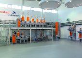 Neben Grundlagenuntersuchungen führt motan-colortronic im neuen Technikum in Friedrichsdorf nahezu täglich kundenspezifische Versuche mit teils extrem schwierigen Ausgangsstoffen durch (Bild: Motan-Colortronic)