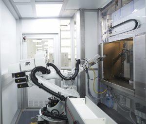 Automatisierte Produktion auf engstem Raum.  (Bildquelle: Schilling Engineering)