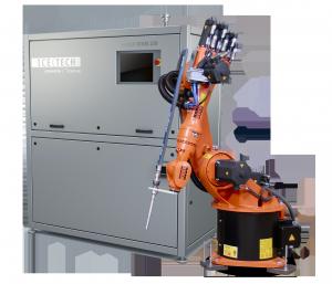 Die Combi 120H ist eine automatisierte Reinigungs- und Oberflächenvorbereitungslösung, die sich für einen kontinuierlichen Reinigungsprozess in der Industrie eignet. (Bildquelle: Cold Jet)