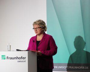 Betonte den hohen Stellenwert des nachhaltigen Wirtschaftens: Svenja Schulze, Ministerin für Innovation, Wissenschaft und Forschung des Landes Nordrhein-Westfalen.
