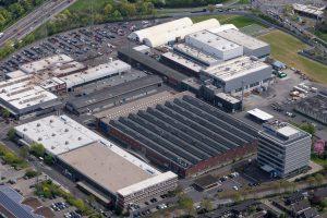 Mit Wirkung zum 18. Februar 2019 gehört Plamex Maschinenbau zur Reifenhäuser Gruppe. Im Bild die Reifenhäuser Hauptverwaltung in Troisdorf. (Bildquelle: Reifenhäuser)