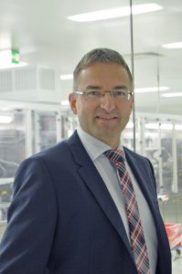 Dr. Thomas Jakob verantwortet seit Mitte 2016 den Geschäftsbereich Medizintechnik von Wirthwein und ist auch gesamtverantwortlich für das Tochterunternehmen Riegler in Mühltal. (Bildquelle: Wirthwein)