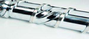 Das neue Schneckenkonzept erreicht über das gesamte Materialspektrum höchste Leistungen. (Bildquelle: Engel)
