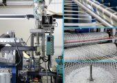 LFT-Pultrusionsanlage (Bildquelle: Protec)