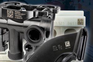 Direct Part Marking von Komponenten per Laser (Bildquelle: Rea Jet)