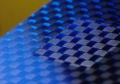 Freigelegte Faserstruktur (Bildquelle: Fraunhofer ILT)
