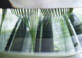 Kühlbecken einer Extrusionsanlage zur Herstellung von Monofilamenten  (Bildquelle: Polytex)