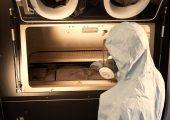 Die TU Nürnberg entwickelt einen 3D-Drucker, der durch seine modulare Bauweise erheblich kostengünstiger sein soll, als vergleichbare Geräte zur addtiven Fertigung für den industriellen Einsatz. (Bildquelle: Oliver Kussinger)