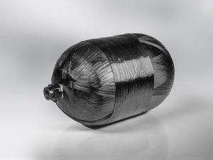 Die SGL Group sieht sich auf einem guten Weg, wieder zu wachsen. Im Bild: ein durch Carbonfaser-verstärkter Drucktank. (Bildquelle: SGL)