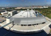 Das neue Werk für beschichtete Gewebe in China hat eine Betriebsfläche von  5.700 Quadratmeter. (Bildquelle: Contitech)
