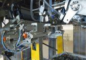 Die Maschine benötigt nur wenig Platz und ist leicht zugänglich für Wartungsarbeiten. (Bildquelle: Coperion)