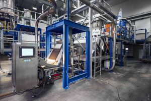 Zweimaschinenlösung für PET-Recycling (bildquelle: Bühler)