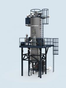 Waschsystem für Recyclate (Bildquelle: Erema)