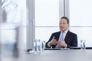 Matthias Zachert, Vorstandsvorsitzender von Lanxess, verfolgt ambitionierte Klimaschutzziele. (Bildquelle: Lanxess)