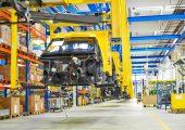 Produktion Street Scooter in Aachen. Logistiker will Produktionskapazitäten seiner Tochter StreetScooter bis Ende des Jahres verdoppeln. (Bildquelle: DHL)