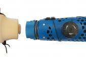 Der Aufbau am Beispiel der alpinen Ski-Handprothese ist modular, sodass an den schaft weitere Prothesen gekoppelt werden können. (Bildquelle: alle ZHAW)
