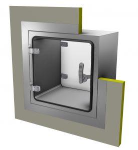 Materialschleuse (Bildquelle: CiK-Solutions)