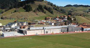 Das Produktionswerk Escholzmatt von B. Braun in der Schweiz (Bildquelle: B. Braun).