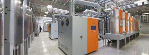 Für den Produktionsstandort eines Großkundens in Monterrey in Mexiko installierte Motan-Colortronic die komplette Ausrüstung für das vollautomatische und zentral überwachte Materialhandling. (Bildquelle: Motan Group)