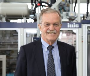 Karl Schäuble ist Geschäftsführer des Heilbronner Thermoformmaschinen-Herstellers. (Bildquelle: Illig)