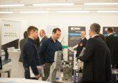 25 Firmen präsentierten auf der begleitenden Fachausstellung ihre Produkte und Dienstleistungen und sorgten während der Veranstaltung für einen gewissen Messecharakter. (Bildquelle: Knarr)