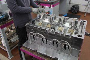 Komplexe Formen gehören zu den Spezialitäten der portugiesischen Werkzeugbauer. (Bildquelle: Redaktion Plastverarbeiter, Ralf Mayer)