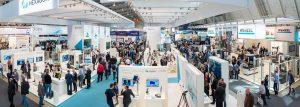 942 Aussteller zeigten auf rund 52.000 m² Brutto-Ausstellungsfläche ihre Produkte und Dienstleistungen rund um die Qualitätssicherung. Genau 29.417 Fachbesucher kamen zur 31. Control, die vom 9. bis 12. Mai 2017 in Stuttgart stattfand. (Bildquelle: Schall)