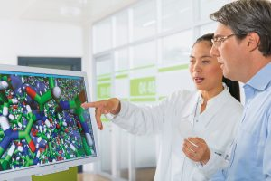 Die Chancen der Digitalisierung entlang der gesamten Wertschöpfungskette zu nutzen, ist das erklärte strategische Ziel von BASF. Seiner Ansicht nach spielen die Forschung und Entwicklung eine Schlüsselrolle dabei, damit die eigene Innovationskraft und Wettbewerbsfähigkeit zu erhöhen. (Bildquelle: BASF)