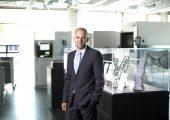 EOS, Hersteller von Geräten für die additive Fertigung, ernennt Dr. Adrian Keppler mit sofortiger Wirkung zum CEO und Sprecher der Geschäftsführung. (Bildquelle: EOS)