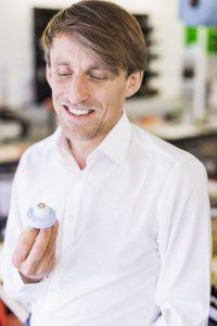 David Ortner, Gründer und Geschäftsführer der eyecre.at (Bildquelle: 1zu1 Prototypen/Darko Todorovic)