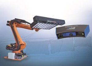 Die Prüfsysteme decken die automatisierte Oberflächeninspektion der kompletten Fertigungskette im Fahrzeugbau ab. (Bildquelle: Micro-Epsilon)