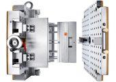 Durch die Schnellspannvorrichtung und die Verwendung des Kleinserienwerkzeuges lässt sich die Rüstzeit auf 10,5 Minuten reduzieren. (Bildquelle: Hasco)