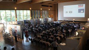 Rund 350 Fachbesucher, 25 Vortragende und 44 Aussteller sorgten für interessante Technologietage. (Bildquelle: Oliver Lange/Redaktion Plastverarbeiter)