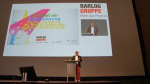 Karl-Heinz Land, Geschäftsführer von Neuland, behauptet die Digitalisierung hat zu einer schnellen und radikalen Veränderung der ökonomischen, politischen und sozialen Rahmenbedingungen geführt. (Bildquelle: Oliver Lange/Redaktion Plastverarbeiter)