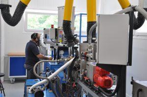 Das Forschungsinstitut Aimplas, Valencia, Spanien, entwickelt seit dem Jahr 1990 Werkstoffe und Verfahren für die Kunststoffbranche und führt darüber hinaus Weiterbildungen durch. (Bildquelle: David Löh/Redaktion Plastverarbeiter)