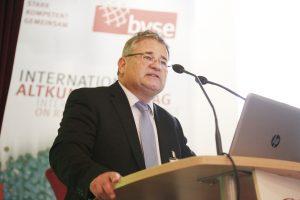 Bvse-Hauptgeschäftsführer Eric Rehbock auf dem bvse-Symposium Ende Juni. (BIldquelle: bvse)