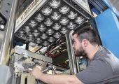 Prozessunterstützung und Service für die neue Thermoformanlage (Bildquelle: Marbach)