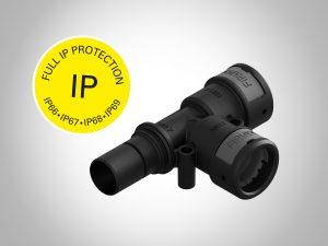 T-Adapter für Kabelschutz (Bildquelle: FIP)