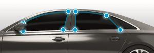 Neues TPE-Material speziell für den Automobil-Exterieur-Bereich (Bildquelle: Kraiburg)