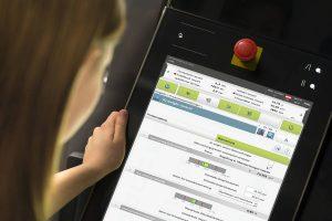 Die Überwachungssoftware generiert Kennzahlen, die unmittelbar Rückschlüsse auf die zu erwartende Bauteilqualität zulassen. (Bildquelle: Engel)