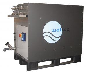 Vollautomatisches Reinigungsgerät hilft bei Korrosion und Kalkablagerungen in Kühlkanälen (Bildquelle: Wattec)