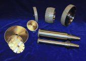 CBN-beschichtete Werkzeuge (Bildquelle: Lach)