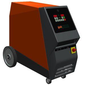Neue Baureihe kompakter Temperiergeräte (Bildquelle: GWK)