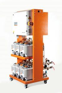 Geringer Platzbedarf und niedriger Installationsaufwand kennzeichnen das System (Bildquelle: GWK)