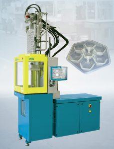 Poffertjes-Silikonbackform, gefertigt auf einer automatisierten Spritzgießmaschine (Bildquelle: Boy)